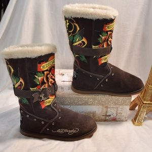 0c221bfd219 Ed Hardy Ankle Boots & Booties for Women | Poshmark
